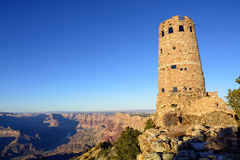 Watchtower at the Grand Canyon Royalty Free Stock Photo