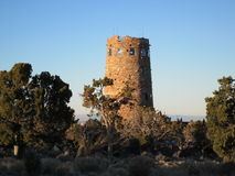 Watchtower at the Grand Canyon Royalty Free Stock Photography