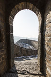 Watchtower of Great Wall Royalty Free Stock Photo