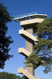 Watchtower at highest point in the Netherlands, Vaals Stock Photography