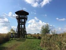 Watchtower in Hortobagy National Park. Hungary Stock Photo