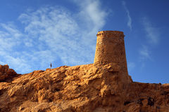 The watchtower of Ile Rousse Royalty Free Stock Image