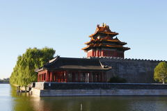 The watchtower of the Imperial Palace Royalty Free Stock Photography