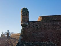 Watchtower at Kalemegdan fortress on a sunny autumn day in Belgrade Stock Photography
