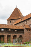 Watchtower Malbork Castle Royalty Free Stock Photography