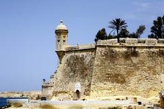 Watchtower Malta Royaltyfri Bild
