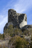 Watchtower on the mountain Royalty Free Stock Images