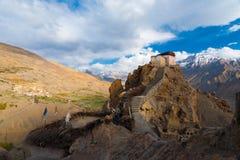 Watchtower New Monastery Mountain Wide Stock Photo