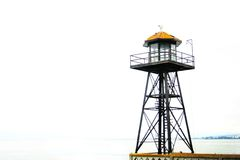 Watchtower by ocean Royalty Free Stock Image