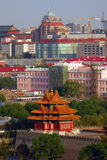 Watchtower Of The Forbidden City Royalty Free Stock Image