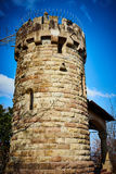 Watchtower of old ruin in Stuttgart Royalty Free Stock Photography