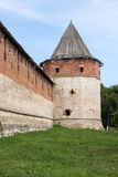 Watchtower old Russian fortress Stock Photos