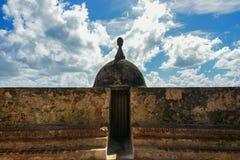 Watchtower Old San Juan. Paseo la Princesa Stock Photography