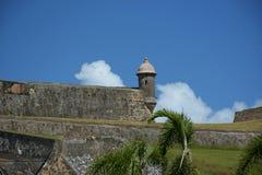 Watchtower Old San Juan. Puerto Rico Historic Site  Castillo San Cristobal Stock Image