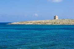 Watchtower på Malta Arkivfoto