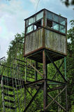 Watchtower in the protected zone Stock Photos