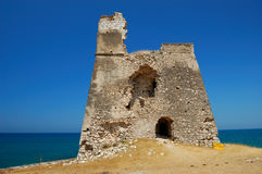 Watchtower ruin Stock Image