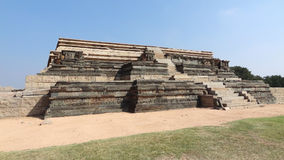 Watchtower ruin at Vijayanagara Royalty Free Stock Photo