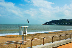 The watchtower seaside stock images