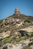 Watchtower in Tharros city in Sardinia Stock Photography