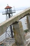Watchtower van Alcatraz Stock Foto's