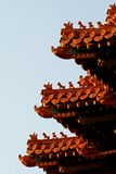 Watchtower van de Verboden Stad Royalty-vrije Stock Foto's