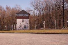 Watchtower van het Gedenkteken van KZ Buchenwald royalty-vrije stock afbeeldingen