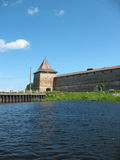Watchtower van Schlisselburg Stock Foto's