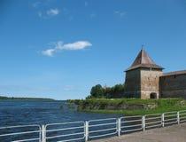 Watchtower van Schlisselburg Royalty-vrije Stock Afbeeldingen