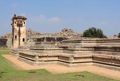Watchtower at Vijayanagara Stock Photos