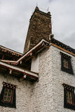 Watchtowers  in danba,sichuan,china Stock Photos