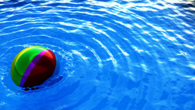 wate залпа шарика стоковое изображение