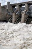 Wate rapide de barrage de Truman Image libre de droits
