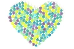 Watearbeads background Royalty Free Stock Photography