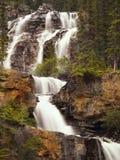 Waterfalls in autumn Canadian Falls Royalty Free Stock Photos