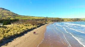 Watefoot Glenariff Beach Antrim Northern Ireland. Watefoot Glenariff Beach Co. Antrim Northern Ireland stock photo