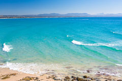 Wategoes海滩,拜伦海湾, NSW,澳大利亚 库存照片
