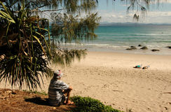 Wategos Beach, Byron Bay Australia Royalty Free Stock Photos