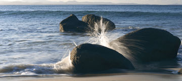 Wategos beach in Byron Bay. New South Wales in the late afternoon Royalty Free Stock Image