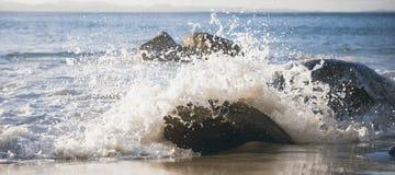 Wategos plaża w Byron zatoce Obraz Royalty Free