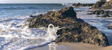 Wategos strand i Byron Bay Royaltyfri Fotografi