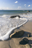 Wategos strand i Byron Bay Arkivfoto