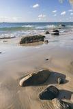 Wategos strand i Byron Bay Fotografering för Bildbyråer