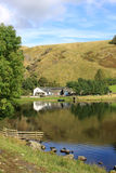 Watendlath et district du Tarn, lac, Cumbria. Photographie stock