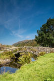 Watendlath Stone Footbridge vertical Stock Photo