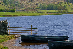 Watendlath Tarn. In the English Lake District Royalty Free Stock Photography