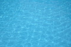 Water. Picture of swimming pool water Royalty Free Stock Images