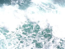 Water. Heavy gale on sea with waves and lather Royalty Free Stock Photography