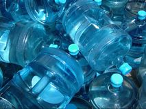 Water. Bottles Stock Image