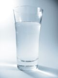 Water. Glas of water Stock Photos